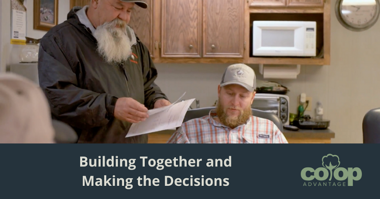 Building Together and Making the Decisions