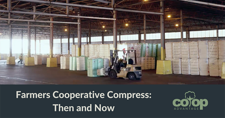 Farmers Cooperative Compress: Then and Now