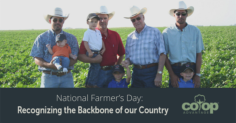National Farmer's Day: Recognizing the Backbone of our Country