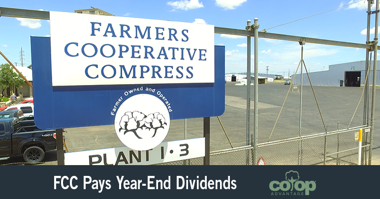 FCC Pays Year-End Dividends