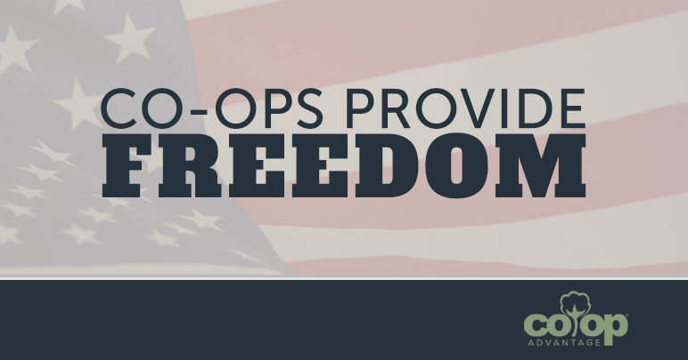 Co-ops Provide Freedom