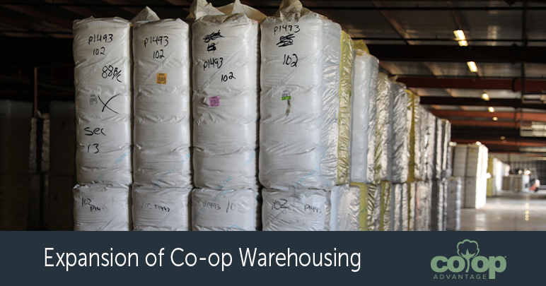Expansion of Co-op Warehousing